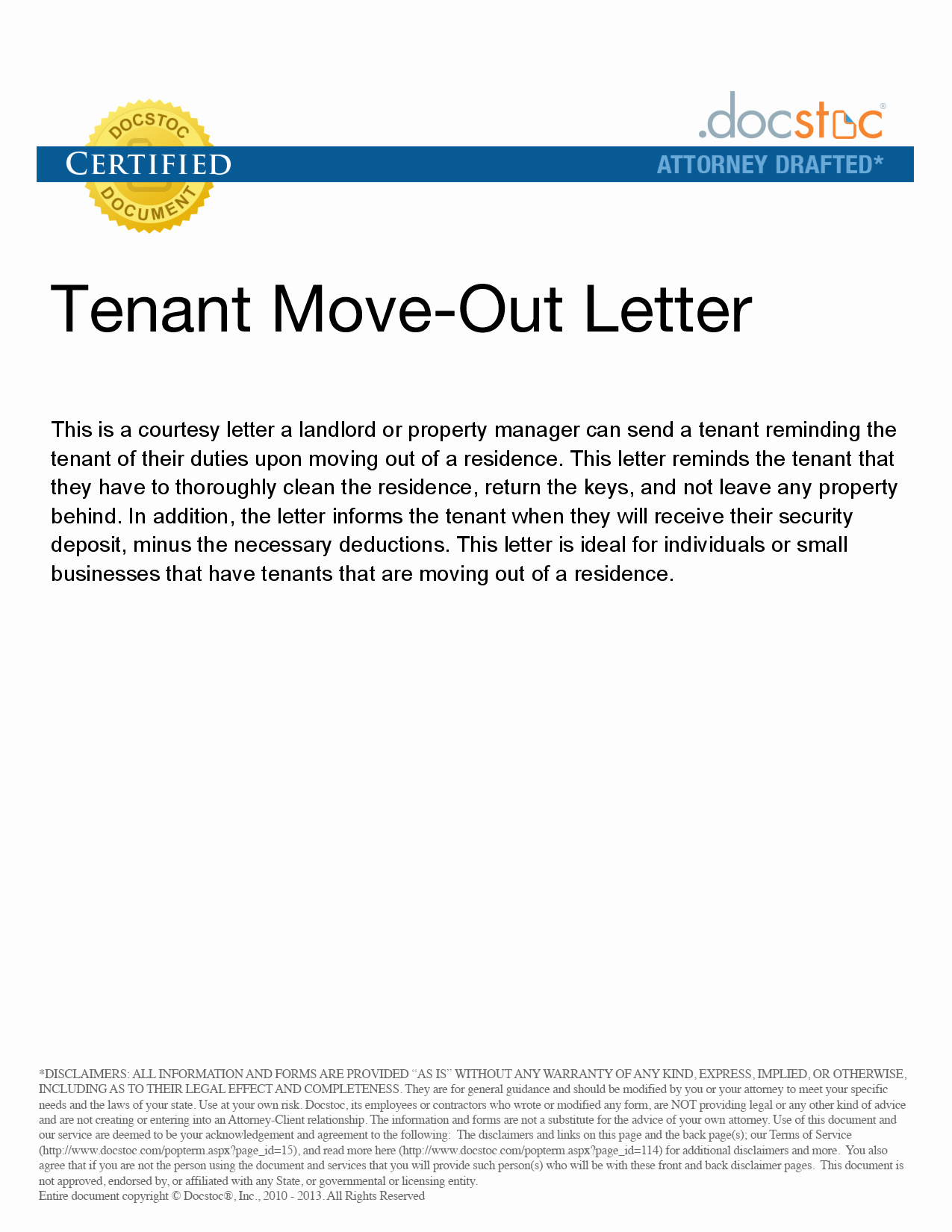 Tenant Move Out Letter New Best S Of Move Out Notice to Tenant Template 30 Day