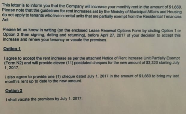 Tenant Rent Increase Letter Luxury Tenants Looking for New Place after $1 660 Rent Increase