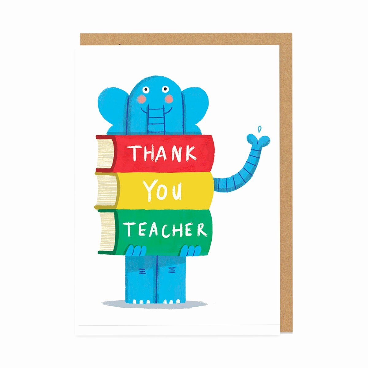 Thank You Card for Mentor Awesome Thank You Teacher Greeting Card