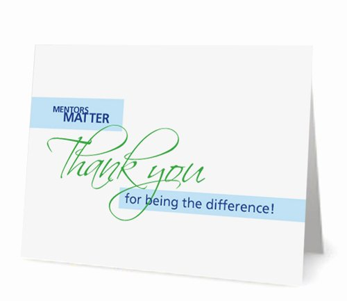 Thank You Card for Mentor Elegant Nurse Mentoring Institute Nurse Builders