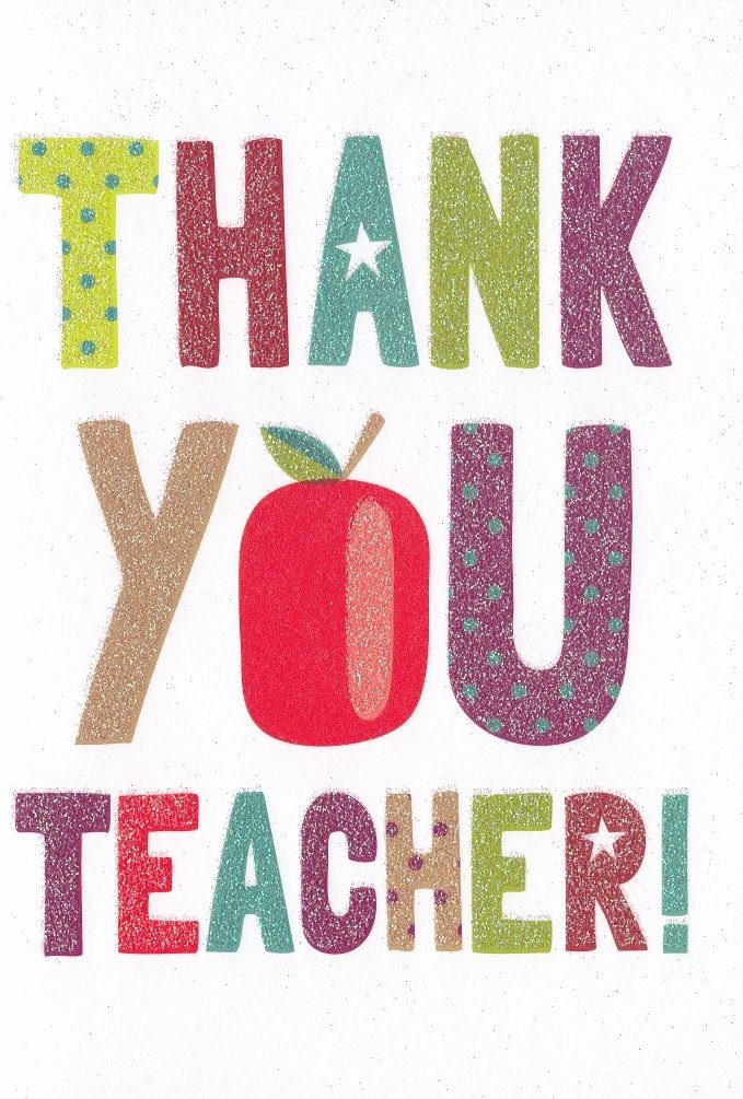 Thank You Card for Mentor Luxury Teacher Thank You Card Karenza Paperie