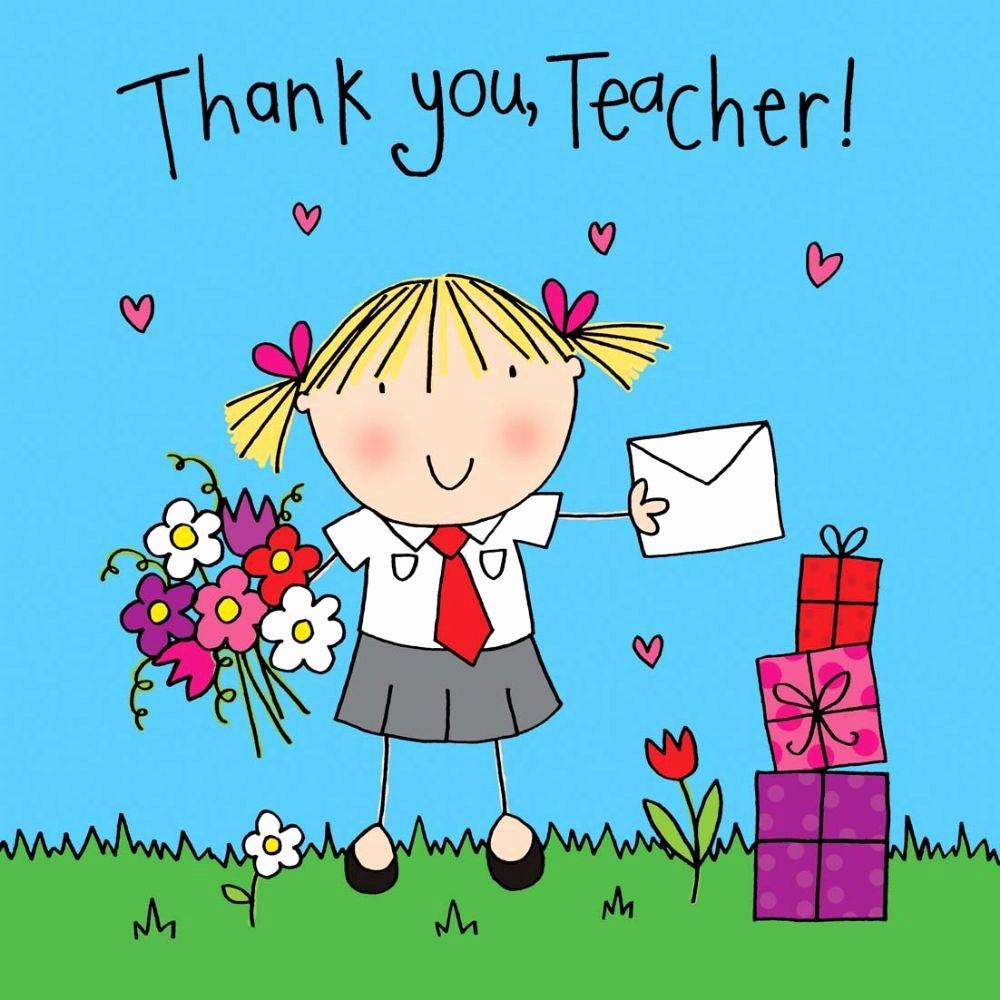 Thank You Card for Mentor New Thank You Teacher Card Crystals