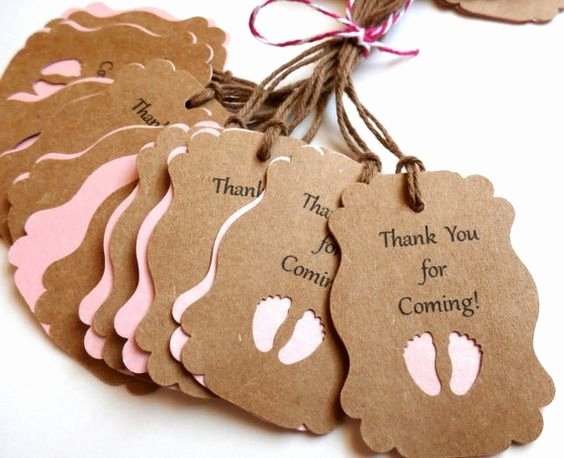 Thank You for Coming Tag Best Of 33 Metallic Colors to Choose From Baby Shower Favors Baby