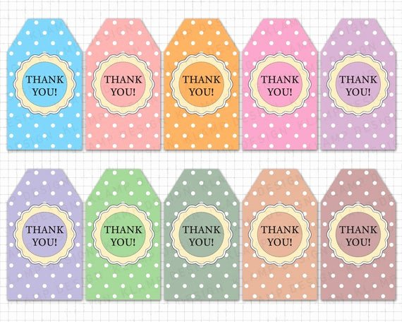 Thank You for Coming Tag Lovely Printable Thank You Tags Thank You Printable Tags