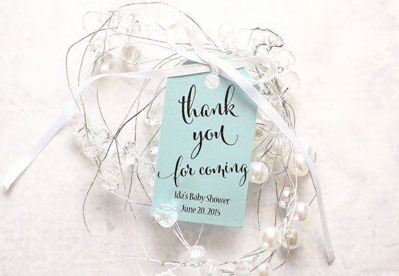 Thank You for Coming Tag Lovely Wedding Favor Tag Thank You for Ing Party Favor Thank