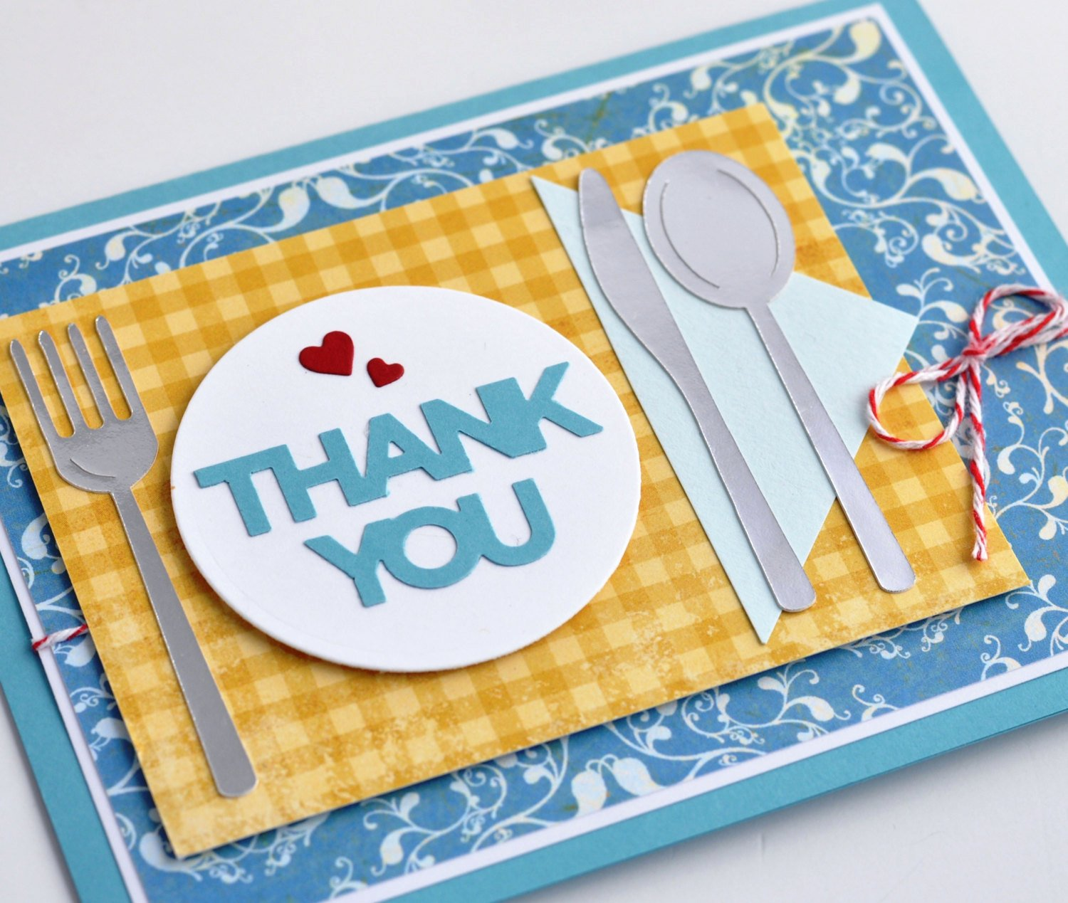 Thank You for Dinner Awesome Hospitality Thank You Card Hostess Thank You Card Thank You