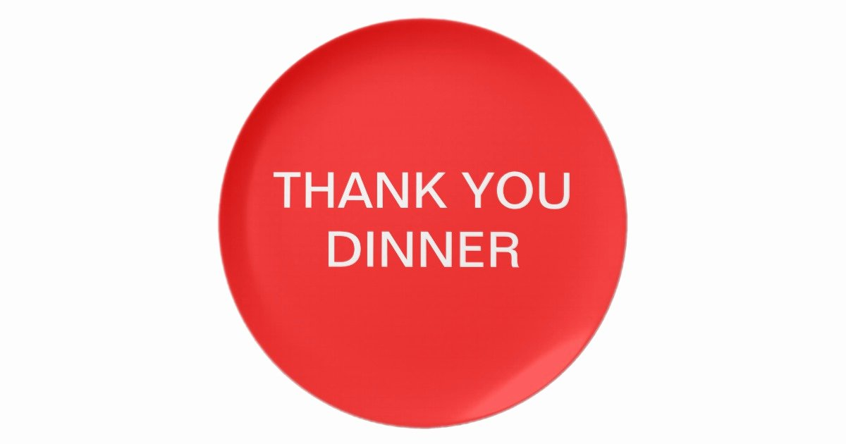 Thank You for Dinner Images Beautiful Thank You Dinner Plate