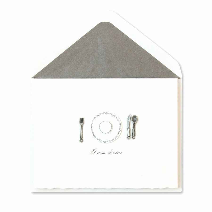 Thank You for Dinner Images Best Of Handmade Dinner Thank You Thank You Cards