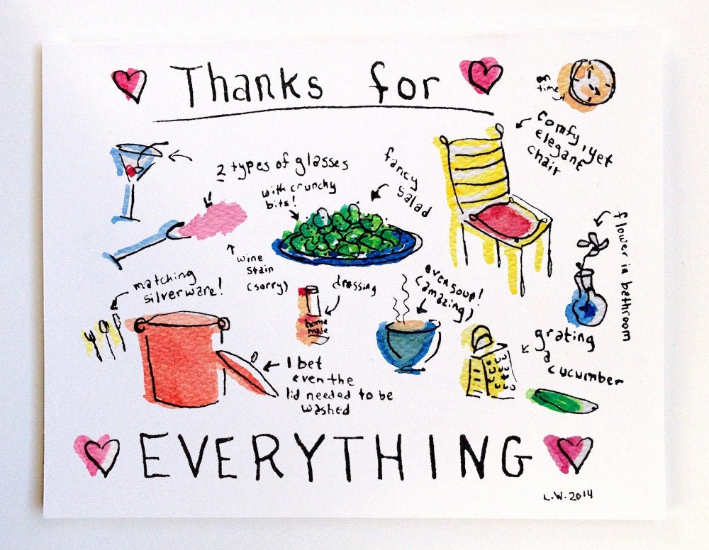 Thank You for Dinner Images Best Of Thank You for Dinner Greeting Card