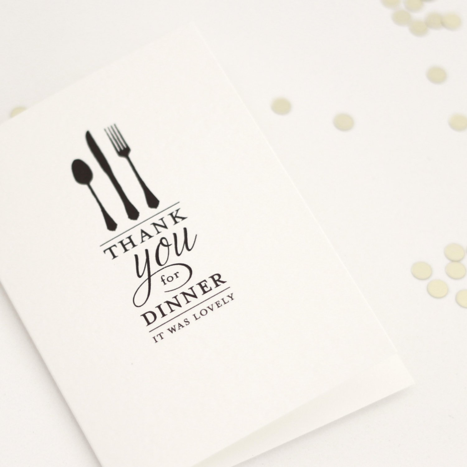 Thank You for Dinner Images Luxury Thank You for Dinner It Was Lovely Thank You Card Dinner
