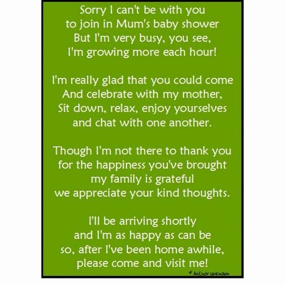 Thank You Letter Baby Shower Awesome Baby Showers Babies and Note On Pinterest