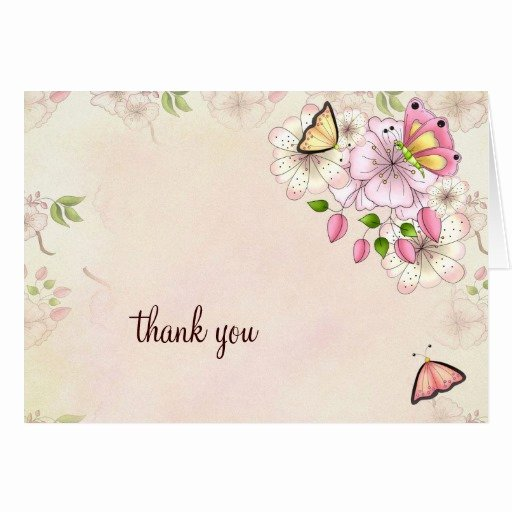 Thank You Letter Baby Shower Awesome Lgc Garden Baby Shower Thank You Stationery Note Card