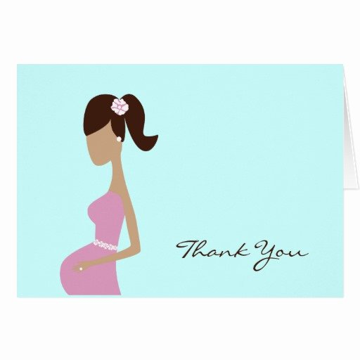Thank You Letter Baby Shower Fresh Baby Shower Thank You Note Note Card