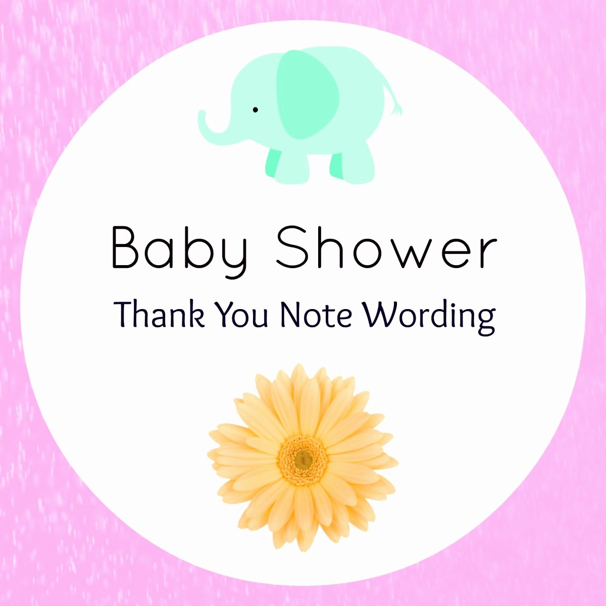 Thank You Letter Baby Shower Fresh Baby Shower Thank You Wording Handmade Gift