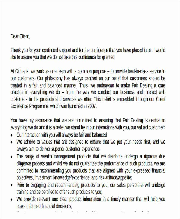 Thank You Letter to Client Best Of 51 Thank You Letter Example Templates