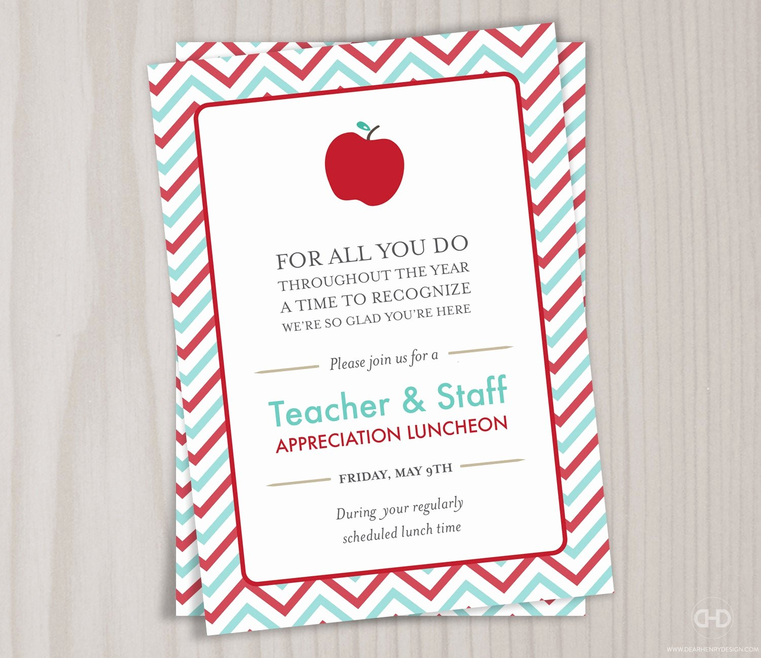 Thank You Lunch Invitation Awesome Teacher Appreciation Invitation Printable Teacher Thank You