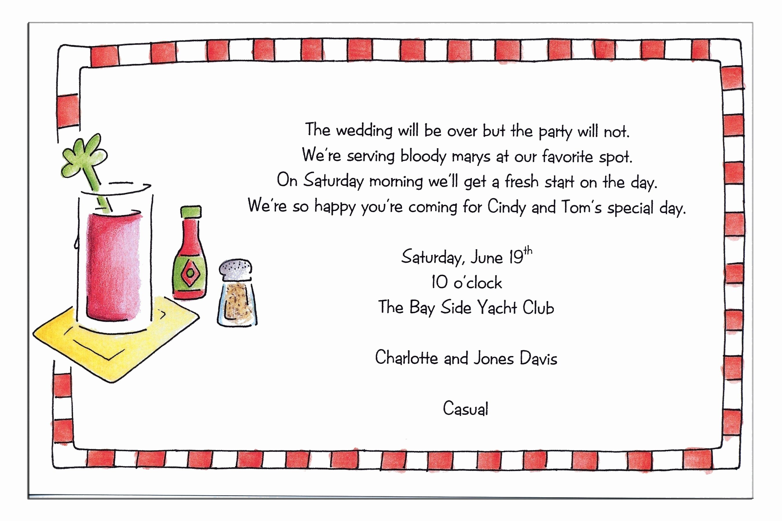 Thank You Lunch Invitation Elegant Lunch Party Invitation Wording