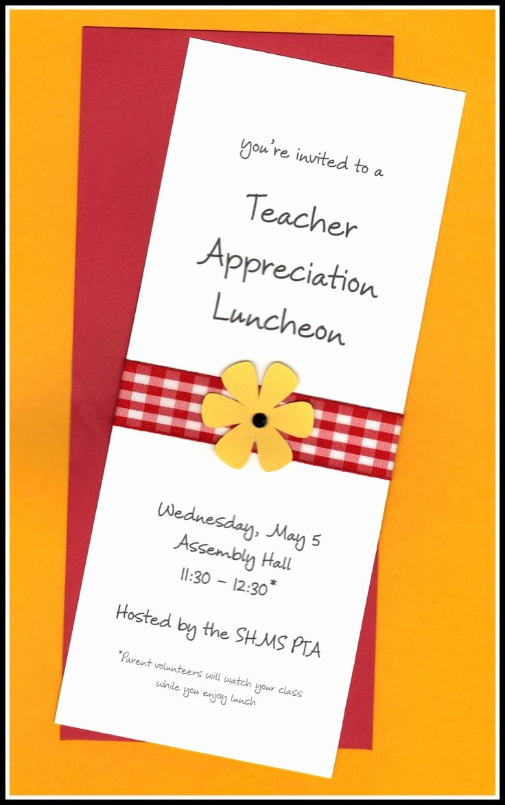 Thank You Lunch Invitation Luxury 14 Best Staff Appreciation Luncheon Images On Pinterest