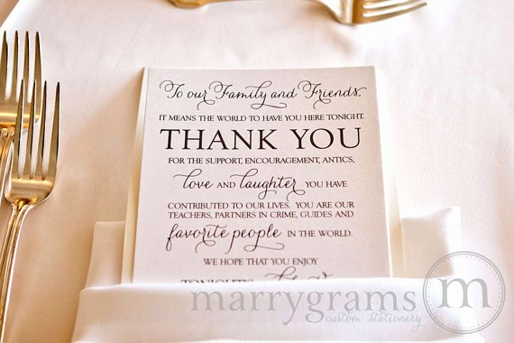 Thank You Note after Dinner Inspirational Thank You Make Your Guests Smile