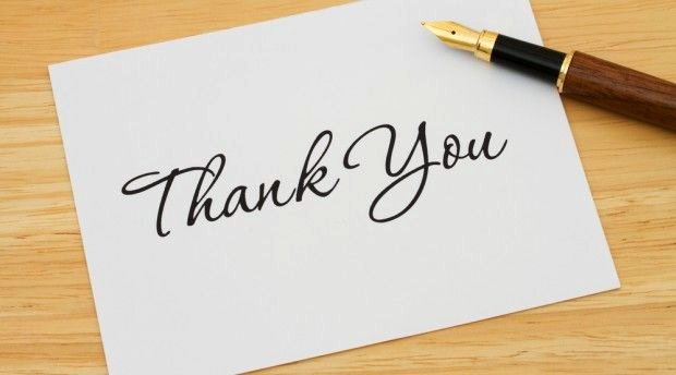 Thank You Note for Presentation Luxury top Mistakes On Thank You Notes