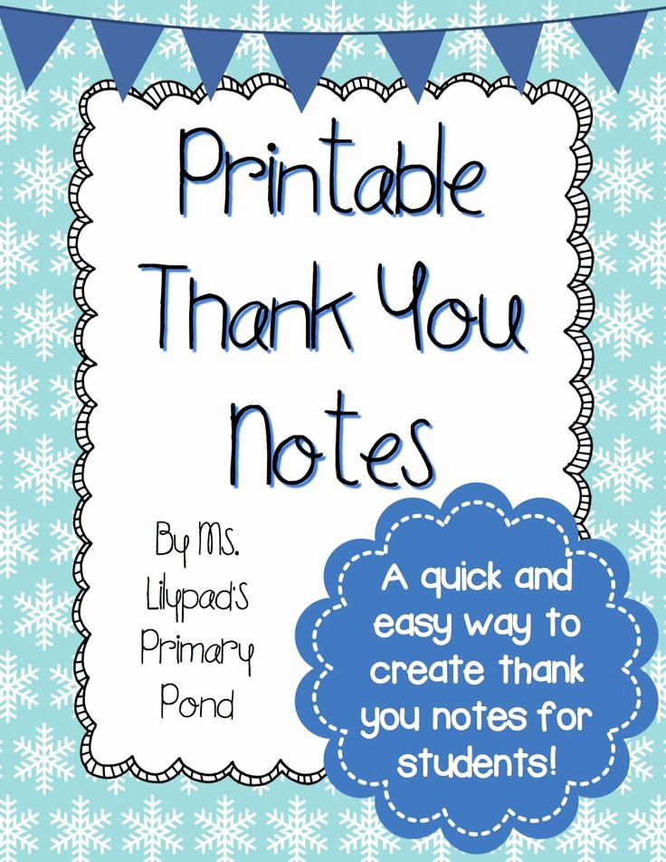 Thank You Note Teacher Unique 36 Best Images About Thank You Notes On Pinterest