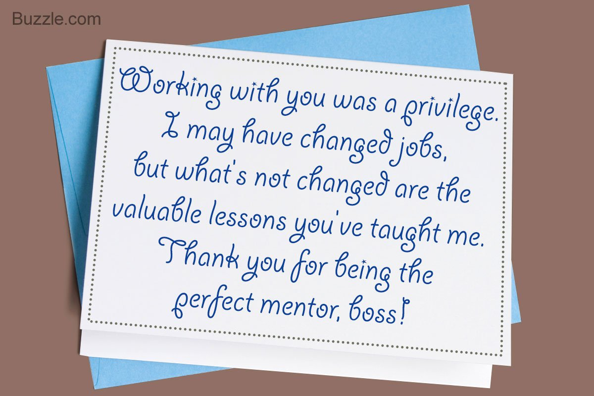 Thank You Note to Manager Elegant Smart Tips On Writing A Thank You Note to Your Boss