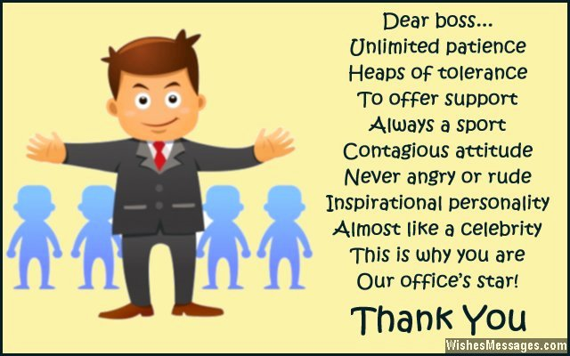 Thank You Note to Manager Unique Thank You Notes for Boss Messages and Quotes to Say