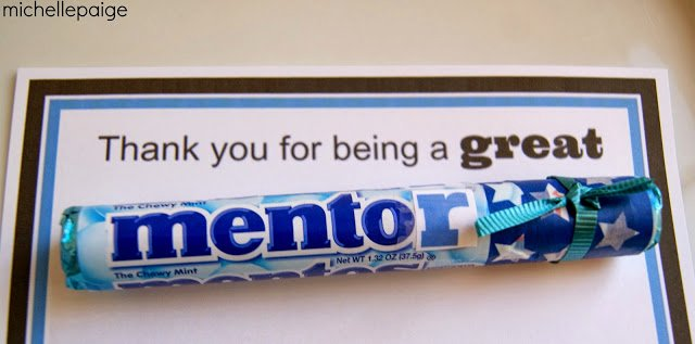 Thank You Note to Mentor Inspirational Michelle Paige Blogs Mentos Thank You for A Mentor