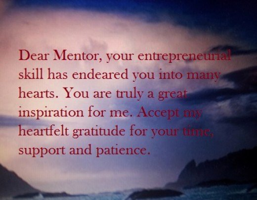 Thank You Note to Mentor Inspirational Thank You Message for Mentor