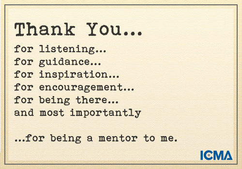 "Thank You Note to Mentor Luxury ""thank You for Being A Mentor to Me"""