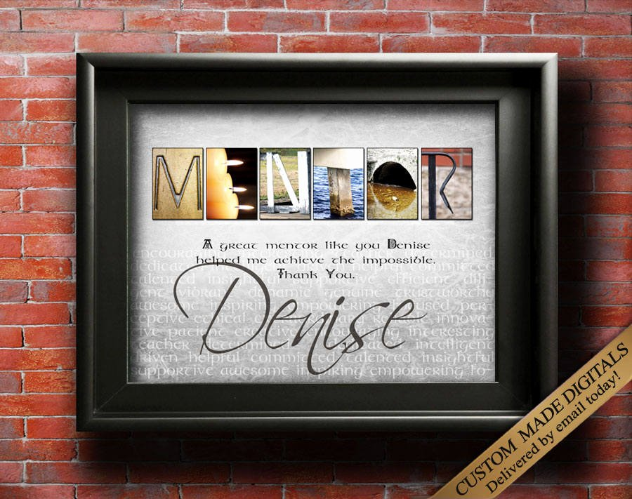 Thank You Note to Mentor Unique Mentor Gift Digital Thank You Mentor Gifts Mentor Quotes