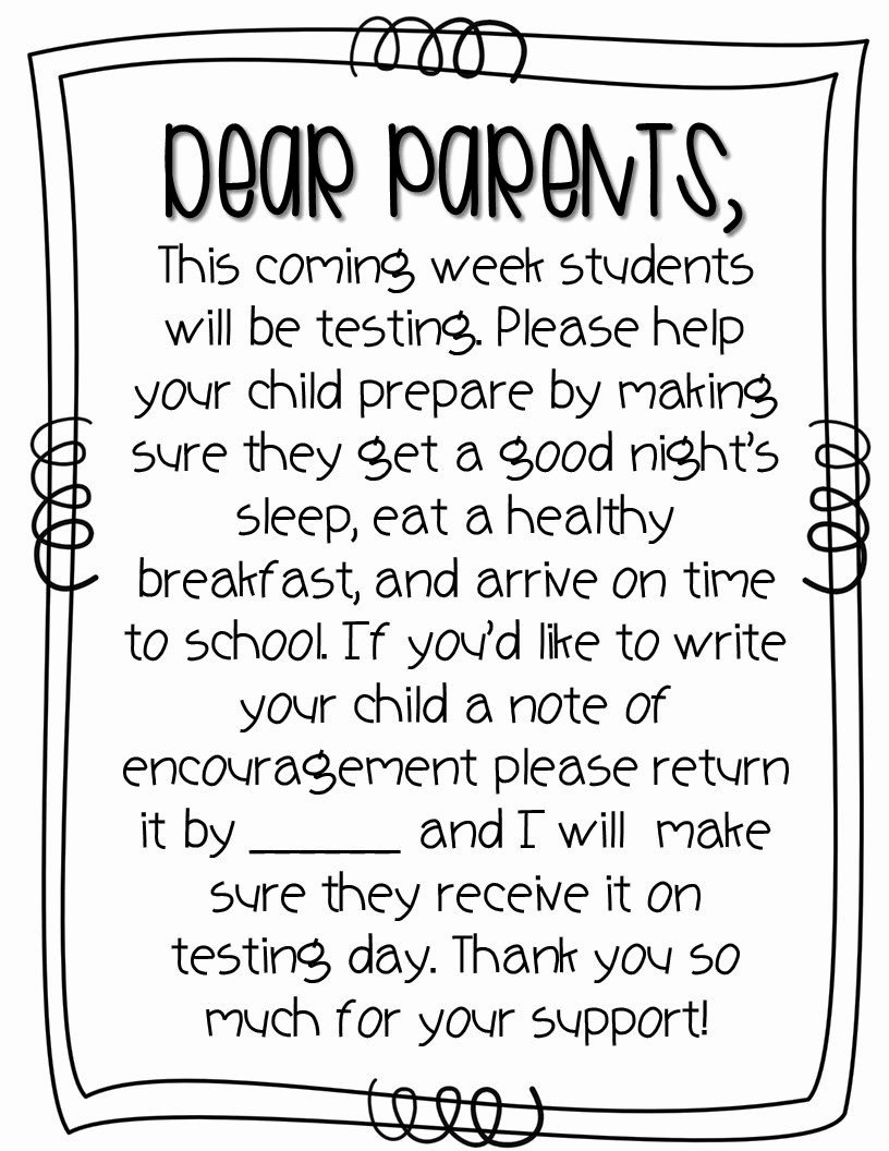 Thank You Note to Parents Best Of Sharp In Second May 2015