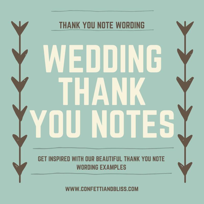 Thank You Note Wording Wedding Beautiful Wedding Thank You Note Wording Generous Wedding Gifts