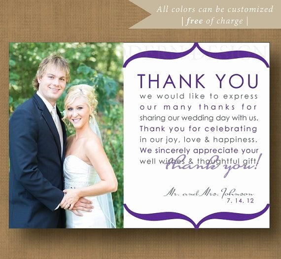 Thank You Note Wording Wedding Elegant 12 Best Images About Wedding Thank You Examples On