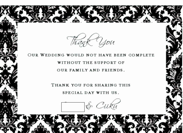 Thank You Note Wording Wedding Elegant Best 25 Thank You Card Wording Ideas On Pinterest