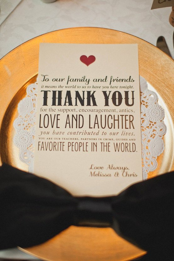 Thank You Note Wording Wedding Lovely Wedding Etiquette Thank You Notes for Your Guests