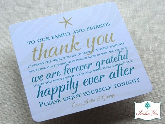 Thank You Note Wording Wedding Lovely Wedding Reception Thank You Card Wording
