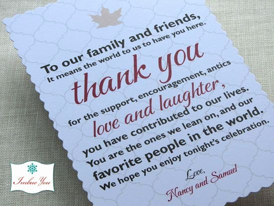 Thank You Note Wording Wedding New 12 Best Images About Wedding Thank You Examples On