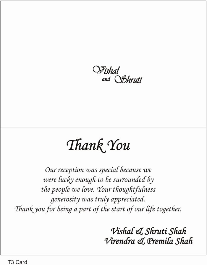 Thank You Note Wording Wedding New Thank You Cards Wedding Wording Google Search