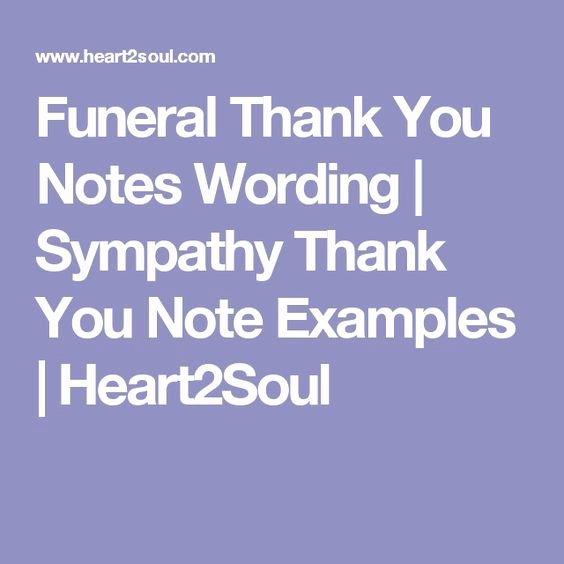 Thank You Notes for Deaths Best Of Funeral Thank You Notes Wording