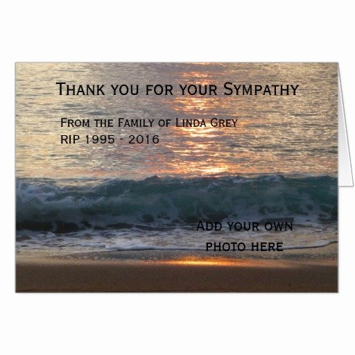 Thank You Notes for Deaths Luxury Writing Condolence Thank You Notes