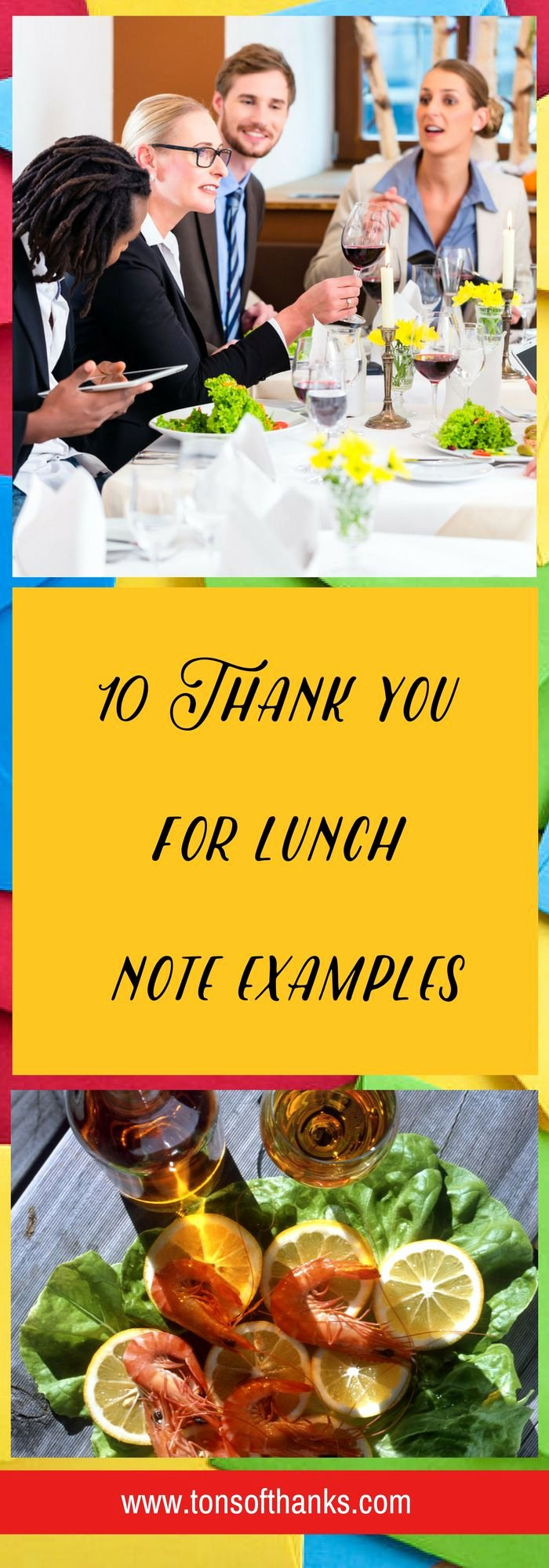 Thank You Notes for Lunch Inspirational 17 Best Images About Thank You Note Examples On Pinterest