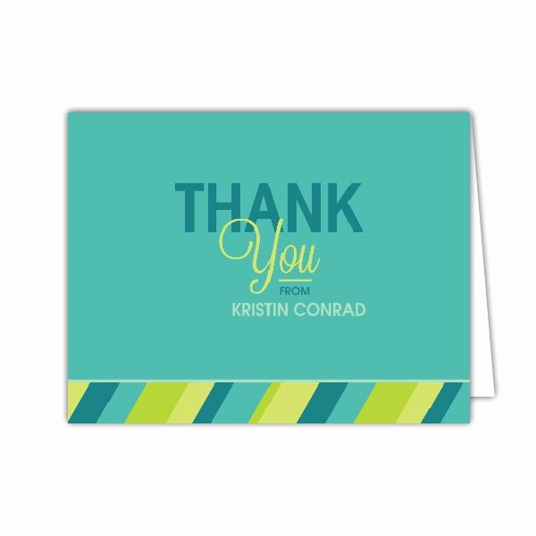 Thank You Notes for Lunch Lovely Lets Do Lunch Teal Folded Thank You Notes