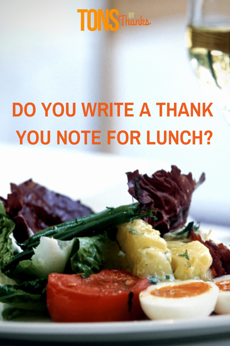 Thank You Notes for Lunch Lovely Thank You for Lunch with Thank You Note Examples