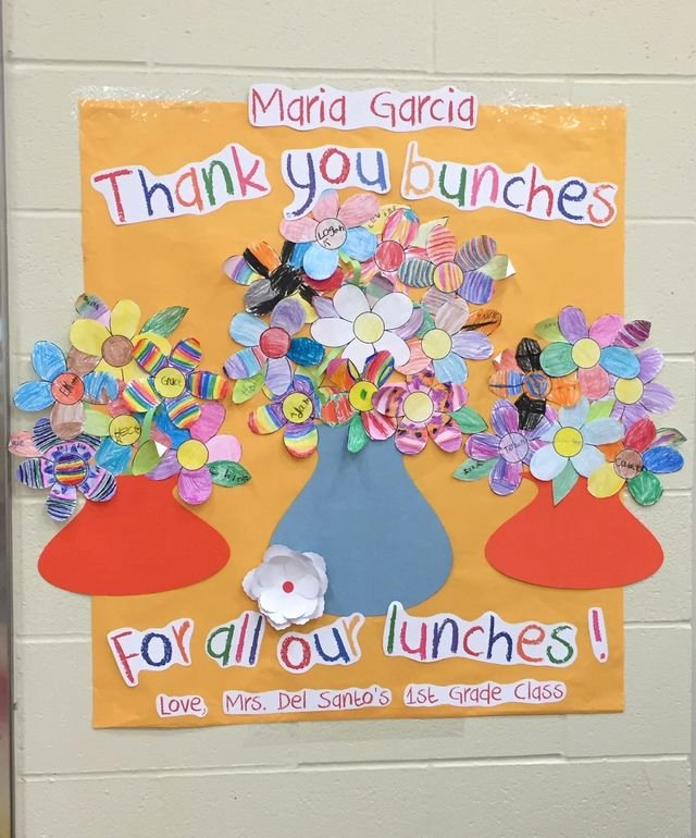 Thank You Notes for Lunch New School Cafeteria Worker Appreciation Ts