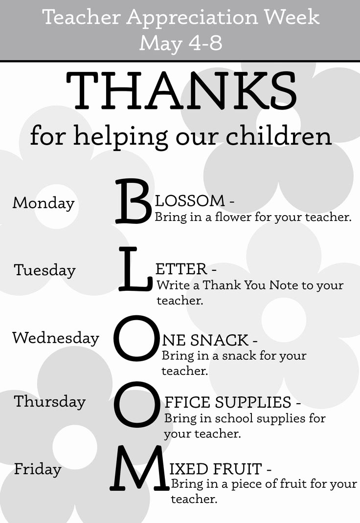 Thank You Notes for Parents Elegant 25 Best Ideas About Teacher Appreciation Week On