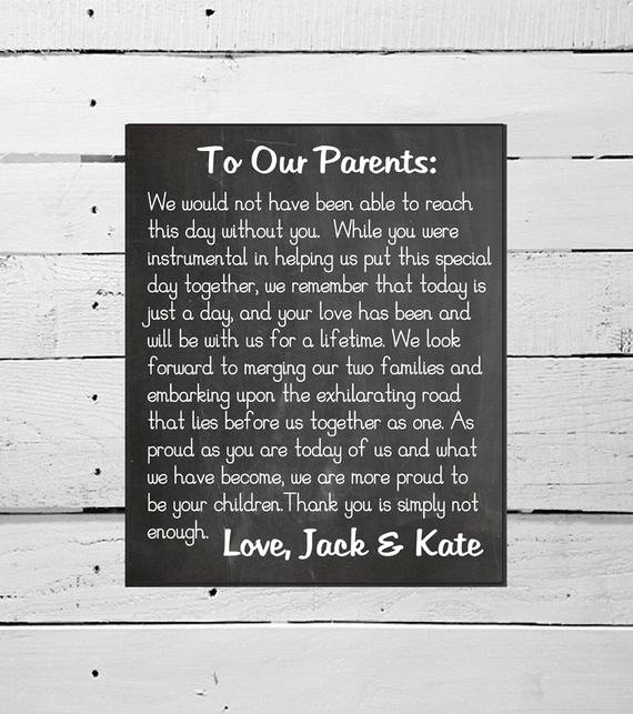 Thank You Notes for Parents Elegant Unavailable Listing On Etsy