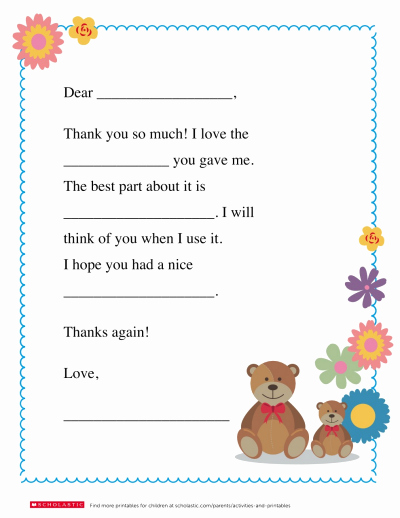 Thank You Notes for Parents Inspirational A Homemade Thank You Note