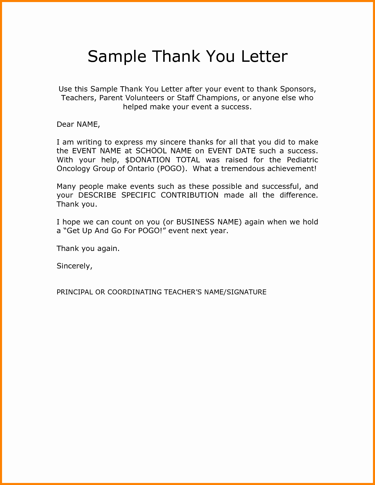 Thank You Notes for Parents New Image Result for Thank You Letter to Teachers From