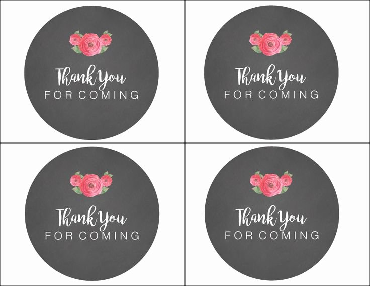 Thank You Tag Template Awesome 31 Best Free Printable From